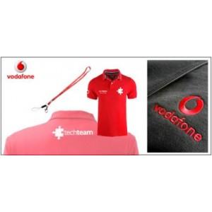 Vodafone Embroidered Work Wear